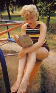 Marilyn Monroe reading Molly Bloom's soliloquy