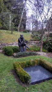 Grave of James Joyce, in Fluntern district of Zurich